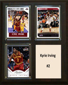 "NBA 8""x10"" Kyrie Irving Cleveland Cavaliers Three Card Plaque"
