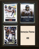 "NFL 8""x10"" Demaryius Thomas Denver Broncos Three Card Plaque"