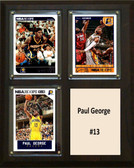"NBA 8""x10"" Paul George Indiana Pacers Three Card Plaque"