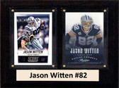 "NFL 6""X8"" Jason Witten Dallas Cowboys Two Card Plaque"