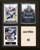 "NFL 8""x10"" Jason Witten Dallas Cowboys Three Card Plaque"