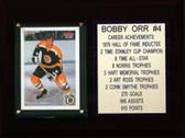 """NHL 6""""X8"""" Bobby Orr Boston Bruins Career Stat Plaque"""