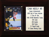 "NHL 6""X8"" Cam Neely Boston Bruins Career Stat Plaque"