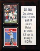 "NFL 8""X10"" Dan Marino Miami Dolphins Career Stat Plaque"
