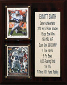 "NFL 8""X10"" Emmitt Smith Dallas Cowboys Career Stat Plaque"