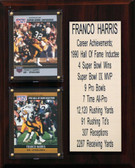 "NFL 8""X10"" Franco Harris Pittsburgh Steelers Career Stat Plaque"