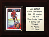 "NHL 6""X8"" Guy Lafleur Montreal Canadiens Career Stat Plaque"