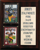 "NFL 8""X10"" Jerome Bettis Pittsburgh Steelers Career Stat Plaque"