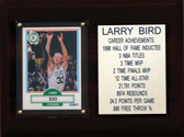 "NBA 6""X8"" Larry Bird Boston Celtics Career Stat Plaque"