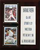 "MLB 8""X10"" Mariano Rivera New York Yankees Career Stat Plaque"