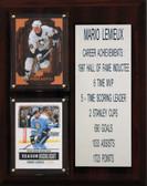 "NHL 8""X10"" Mario Lemieux Pittsburgh Penguins Career Stat Plaque"