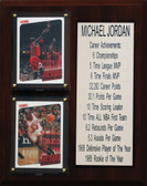 "NBA 8""X10"" Michael Jordan Chicago Bulls Career Stat Plaque"