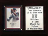 "MLB 6""X8"" Tom Seaver New York Mets Career Stat Plaque"