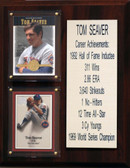 "MLB 8""X10"" Tom Seaver New York Mets Career Stat Plaque"