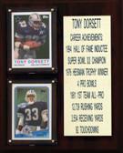 """NFL 8""""X10"""" Tony Dorsett Dallas Cowboys Career Stat Plaque"""