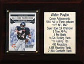 "NFL 6""X8"" Walter Payton Chicago Bears Career Stat Plaque"
