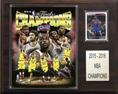 "NBA 12""x15"" Cleveland Cavaliers 2015-2016 NBA Champions Plaque"