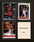 "NBA 8""x10"" Demar Derozan Toronto Raptors Three Card Plaque"