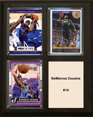 "NBA 8""x10"" DeMarcus Cousins Sacramento Kings Three Card Plaque"
