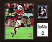 """NFL 12""""x15"""" Tyrann Mathieu Arizona Cardinals Player Plaque"""
