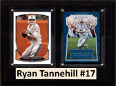 "NFL 6""X8"" Ryan Tannehill Miami Dolphins Two Card Plaque"