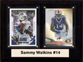"NFL 6""X8"" Sammy Watkins Buffalo Bills Two Card Plaque"