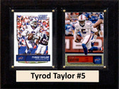 "NFL 6""X8"" Tyrod Taylor Buffalo Bills Two Card Plaque"