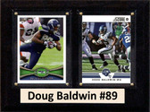 "NFL 8""x10"" Doug Baldwin Seattle Seahawks Three Card Plaque"