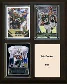 "NFL 8""x10"" Eric Decker New York Jets Three Card Plaque"