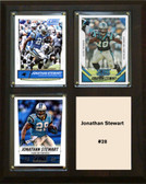 "NFL 8""x10"" Jonathan Stewart Carolina Panthers Three Card Plaque"