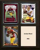 "NFL 8""x10"" Jordan Reed Washington Redskins Three Card Plaque"