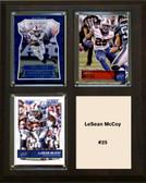 "NFL 8""x10"" LeSean McCoy Buffalo Bills Three Card Plaque"