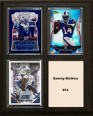 "NFL 8""x10"" Sammy Watkins Buffalo Bills Three Card Plaque"