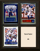 "NFL 8""x10"" Tyrod Taylor Buffalo Bills Three Card Plaque"