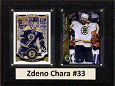 "NHL 6""X8"" Zdeno Chara Boston Bruins Two Card Plaque"