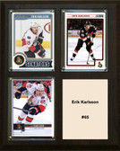 "NHL 8""x10"" Erik Karlsson Owatto Senators Three Card Plaque"