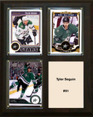 "NHL 8""x10"" Tyler Seguin Dallas Stars Three Card Plaque"