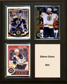 "NHL 8""x10"" Zdeno Chara Boston Bruins Three Card Plaque"