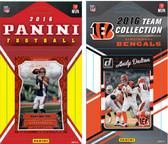 NFL Cincinnati Bengals Licensed 2016 Panini and Donruss Team Set