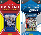 NFL Detroit Lions Licensed 2016 Panini and Donruss Team Set