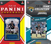 NFL Jacksonville Jaguars Licensed 2016 Panini and Donruss Team Set