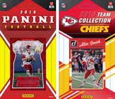 NFL Kansas City Chiefs Licensed 2016 Panini and Donruss Team Set