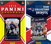 NFL New England Patriots Licensed 2016 Panini and Donruss Team Set