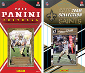 NFL New Orleans Saints Licensed 2016 Panini and Donruss Team Set