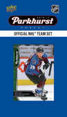 NHL Colorado Avalanche 2016 Parkhurst Team Set