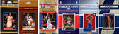 NBA Philadelphia 76ers 6 Different Licensed Trading Card Team Sets