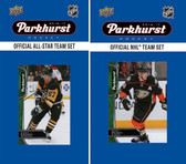 NHL Anaheim Ducks 2016 Parkhurst Team Set and All-Star Set