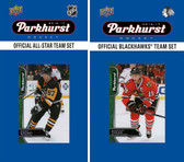 NHL Chicago Blackhawks 2016 Parkhurst Team Set and All-Star Set