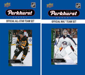 NHL Columbus Blue Jackets 2016 Parkhurst Team Set and All-Star Set