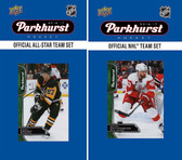 NHL Detroit Red Wings 2016 Parkhurst Team Set and All-Star Set